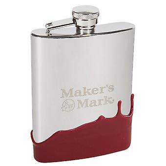 Maker's Mark 6 oz. Wax Flask