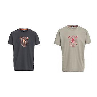 トレスパス メンズ加算カジュアル半袖 t シャツ