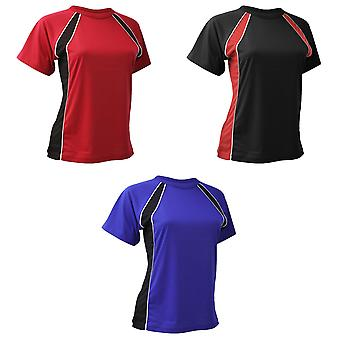 Finden & Hales Womens/Ladies Coolplus Jersey Team Sports T-Shirt