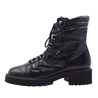 Högl 8-10 2434 Scotty Lace-up Boots In Black Patent