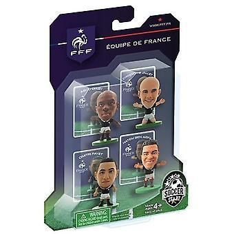 SoccerStarz France 4 Player Blister Pack A Figures