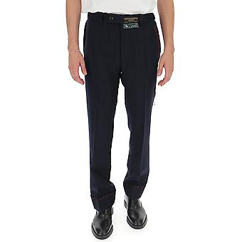 Pantalon Gucci 595494z494f4240 Homme-apos;s Black Wool Pants