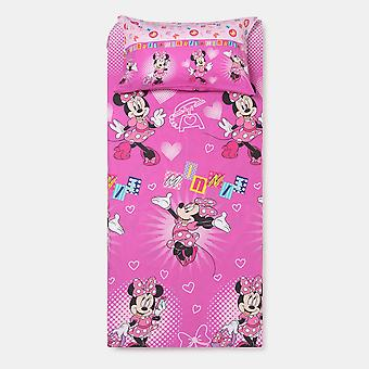 Edredón funda Disney Minnie Fuxia