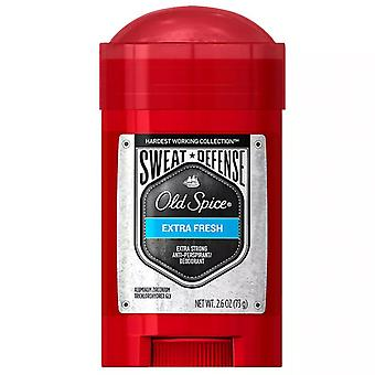 Old spice sweat defense antiperspirant, extra fresh, 2.6 oz