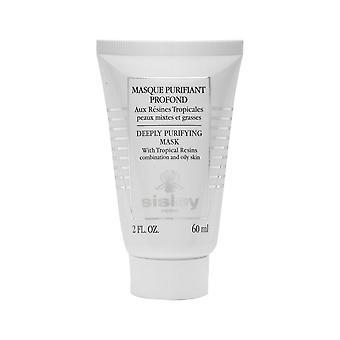 Sisley syvästi puhdistava naamio trooppisilla hartseilla 60ml/2oz