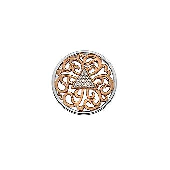 Emozioni Rose Gold Plated Cleopatra 25mm Coin EC468
