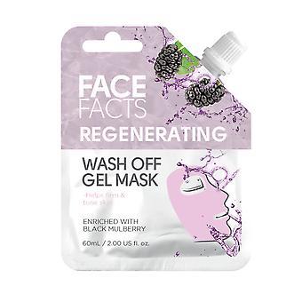 Face Facts Wash Off Gel Face Mask ~ Regenerating
