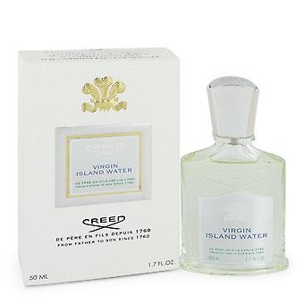 جزيرة العذراء المياه eau de parfum رذاذ (للجنسين) عن طريق العقيدة 546576 50 مل