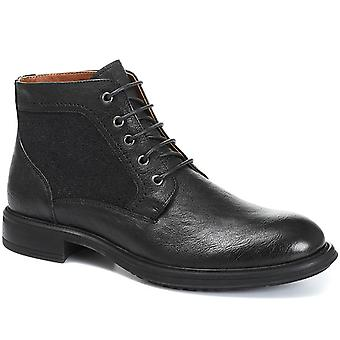 Jones Bootmaker Mens Lace-Up Leather Ankle Boot