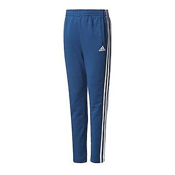 Children's Tracksuit Bottoms Adidas YB 3S FT/10-12 Years