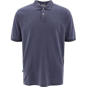 Woolrich Wopo0012mrut14833989 Men's Blue Cotton Polo Shirt