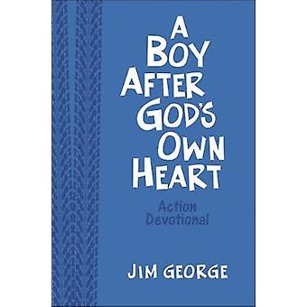 A Boy After God's Own Heart Action Devotional Deluxe Edition von Jim G