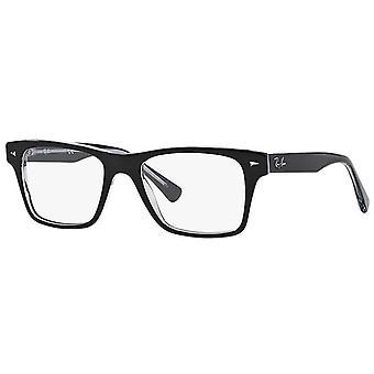 レイバン RB5308 2034 透明メガネのトップブラック