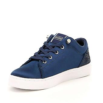 Guess Womens Jollie Fabric Low Top Lace Up Fashion Sneakers