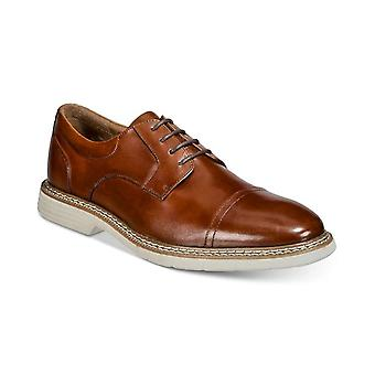 Alfani Herren Marshall Leder Schnürkleid Oxfords