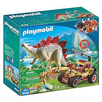 Playset The Explores - Stegosaurus Explorer Vehicle Playmobil 9432 (54 pcs)