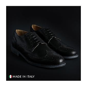 SB 3012 - Shoes - Lace-up shoes - 208-CRUST-NERO - Men -- Schwartz - EU 41