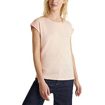 Esprit Women's Casual Cut Slub T-Shirt Normal Fit Γυναικειο
