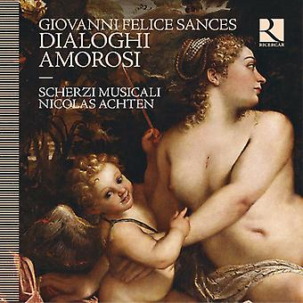 Sances / Musicali / Achten - Dialoghi Amorosi [CD] USA import