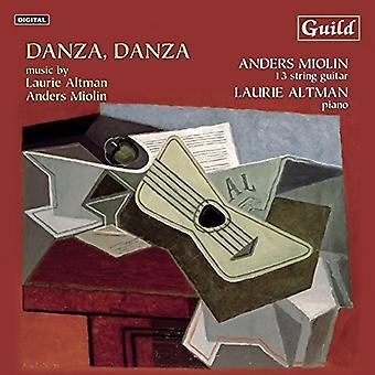Altman / Miolin, Anders / Altman, Laurie - Danza Danza [CD] USA import