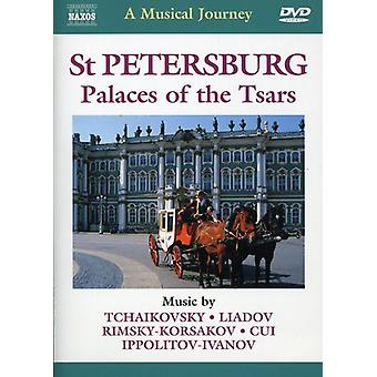 St. Petersburg/Palaces of the Tsars [DVD] USA import