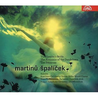 F. Martin - Martinu: Spal Cek; the Spectre's Bride; the Romance of the Dandelions; the Primrose [CD] USA import