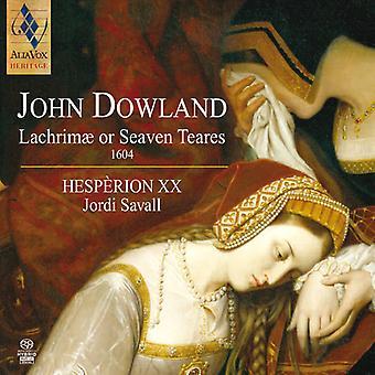 J. Dowland - Dowland: Lachrim  or Seaven Teares, 1604 [SACD] USA import