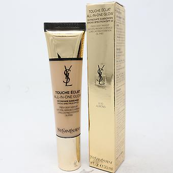 Yves Saint Laurent Touche Eclat All-In-One Glow  1oz/30ml New With Box