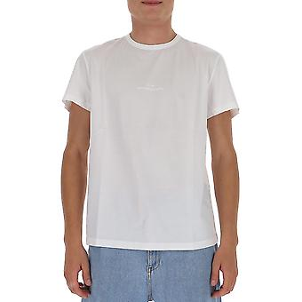 Maison Margiela S30gc0722s22816100 Men's White Cotton T-shirt