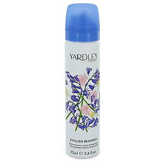 English Bluebell by Yardley London Body Spray 2.6 oz / 77 ml (Women)