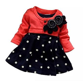 Baby Girl Cotton Polka Dot Dress