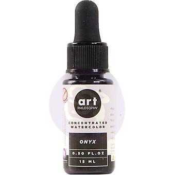 Art Philosophy Concentrated Watercolor Onyx