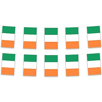 Pack of 3 Republic of Ireland Bunting 15m Polyester Fabric Country National