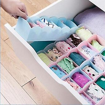Drawer Storage Box and Clothes Organizer Case for Socks Underwear Bra Tie