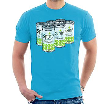 Retro Sprite Cans 1960s Logo Men's T-Shirt