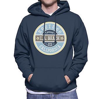 Route 66 Original Beach Wear Men's Hooded Sweatshirt