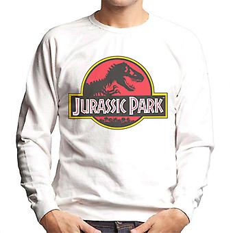 Jurassic Park klassieke logo mannen ' s Sweatshirt