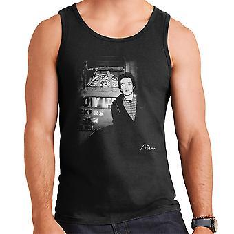 Joe Strummer von The Clash lächelnd Herren Weste
