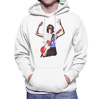 Blossoms Tom Ogden Danelectro på TRNSMT Festival män är Hooded Sweatshirt
