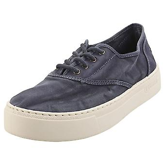 Natural World Old Sama Womens Casual Trainers in Marine