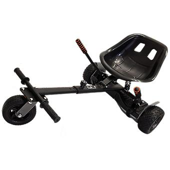 SILI® Off Road Suspension Kart for 2 Wheel Self Balance Scooter, Improved Design with Suspension Under Seat - BLACK