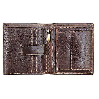 Primehide Leather Mens Wallet RFID Blocking Gents Card Holder Notecase 4152