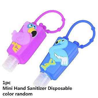 Cute Cartoon Silicone Owl/panda/santa Claus Mini Hand Sanitizer Disposable No
