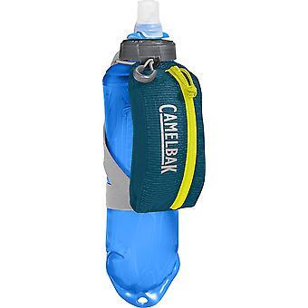 Camelbak Nano Portátil 17oz Quick Stow Suave Flask com Bolsa Reflexiva