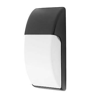 Forlight Område - 1 lys udendørs væg lys sort IP65