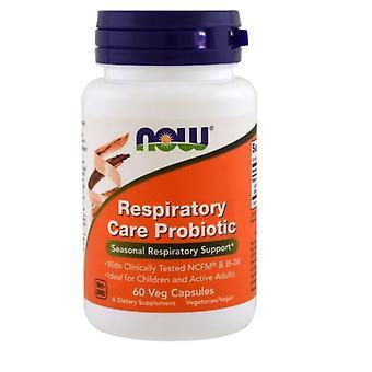 Respiratorisk vård probiotiska (60 vegetariska kapslar)-nu Foods