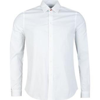 Paul Smith Stitch Detalj Skreddersydd Passform Skjorte