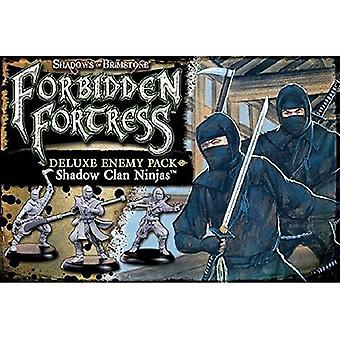 Shadow Clan Ninja Deluxe Enemy Pack - Shadows of Brimstone Expansion Pack