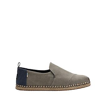 Toms Men's Grey Espadrilles