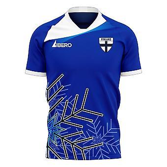 Finland 2020-2021 Away Concept Football Kit (Libero)